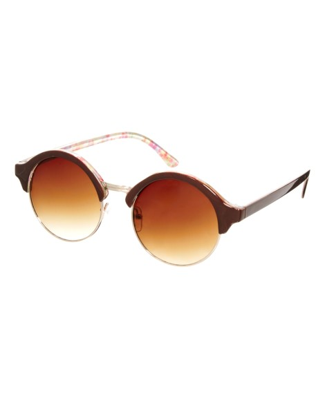Jeepers Peepers Round Isla Sunglasses