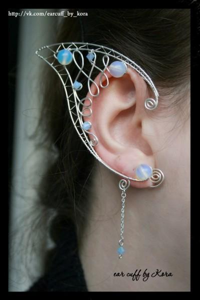 Сережки на все ухо своими руками