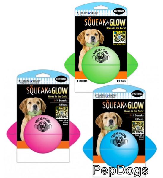 Светящийся мячик для собаки