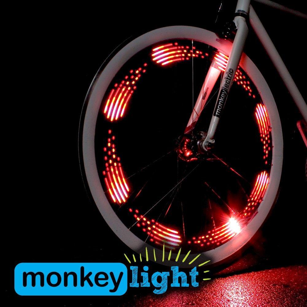 Схема подсветки для велосипеда на колесах