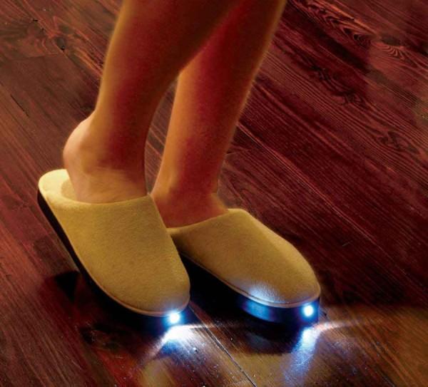 Тапочки с подсветкой купить в москве