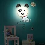 светильник с наклейками