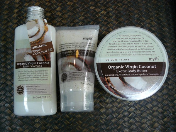 Organic Virgin Coconut Exotic Shampoo