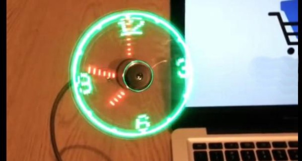 Вентилятор-часы