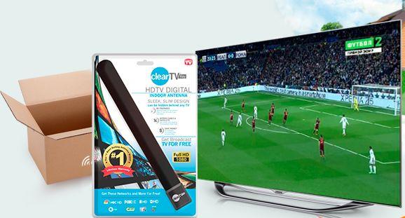 Антенна HQClear TV или как смотреть цифровое ТВ без абонентской платы за кабельное?