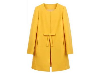 Women's Medium-Long Cashmere Overcoat