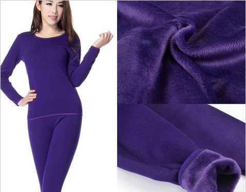 Thick velvet thermal underwear