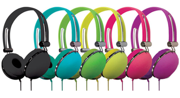 Vibe Stereo In-Ear Soft Touch Headphones