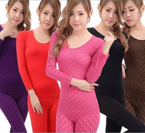 Women's 2-Piece Thermal Underwear Set