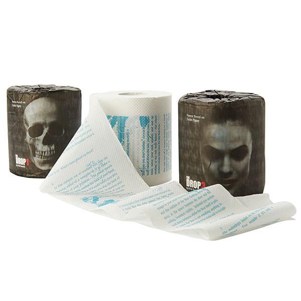 Туалетная бумага с ужасами