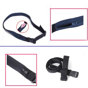 Free-Shipping-Money-Belt-Secret-Pocket-Hidden-Security-Travel-Waist-Money-Belt