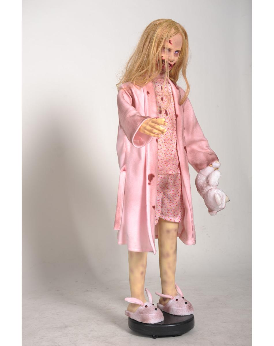 девочка зомби