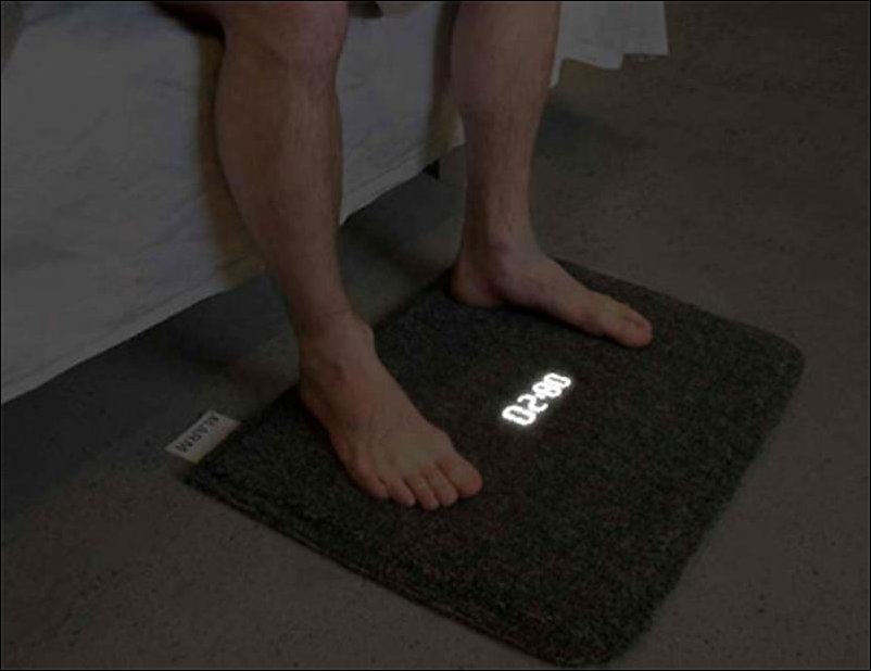 коврик будильник