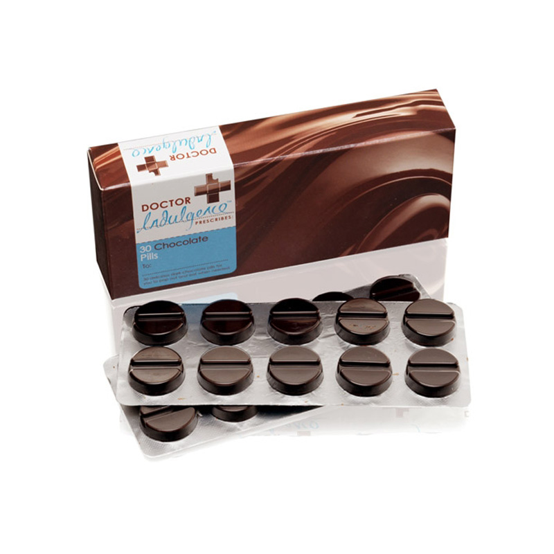 шоколадные таблетки