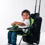 чемодан со стулом
