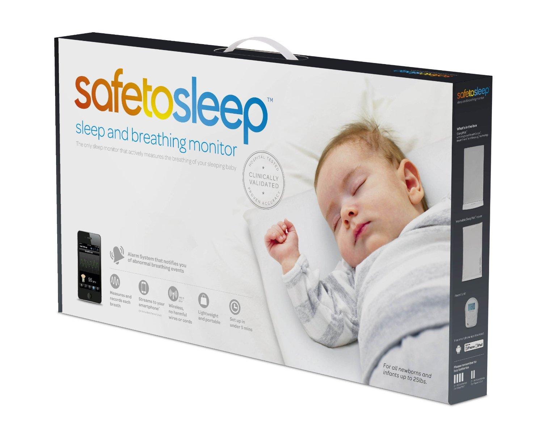 контроль дыхания младенца