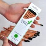 карандаши с семенами