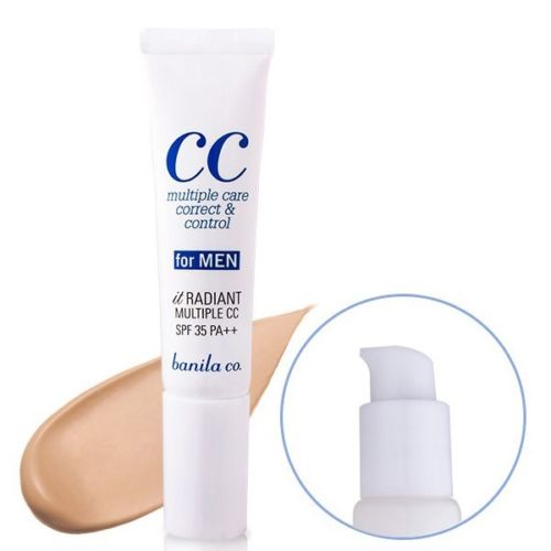 CC cream for men it Radiant Banila co