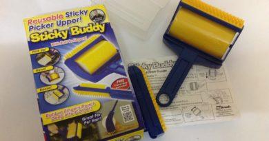 Sticky Buddy — валик для чистки и уборки шерсти: обзор товара