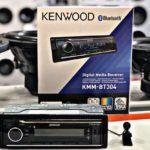 Kenwood KMM BT304 — обзор универсальной автомагнитолы