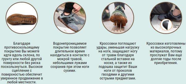 Характеристики Immortal Shoes